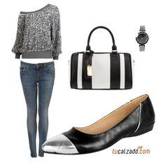 ¡Elegante y sencilla!  www.tucalzado.com #Tendencia #Calzados #Moda #Combinaciones