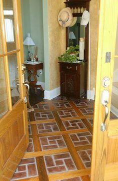 bring the shine back to my split brick floor without refinishing