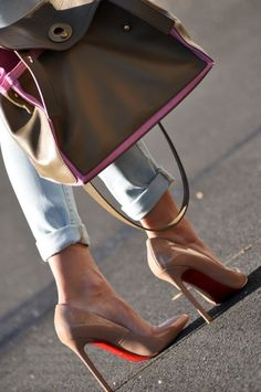 nude shoes  tis is my goal in life. to own a pair of Nude Christian Louboutin