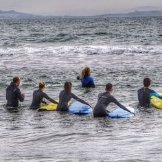 """""""If you never try you'll never know."""" #surfing #surflessons  #sanfrancisco #bayarea #marinoutdooradventure #adventure #instagood  #beautiful #picoftheday @outdoorsie_"""