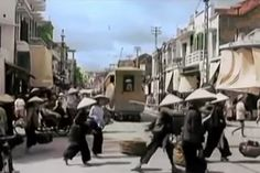 This six-minute compilation of footage offers a rare view of life on the streets of Hanoi prior to . Indochine, Hanoi, Night Life, Vietnam, War, History, Historia