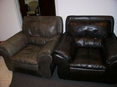 Restoring Worn, Faded Or Dirty Leather Furniture In The Baltimore , Washington  DC Region