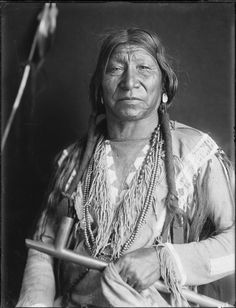 Portrait Of Bobtail Horse, A Cheyenne Man. Collection Richard Throssel. Date Original: 1902-1933. University Of Wyoming. American Heritage Center.