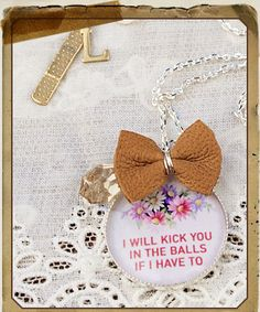 Locher's - No Sweetheart Necklace $59