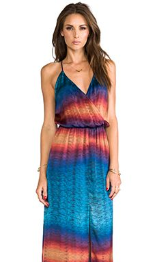 Rory Beca Hess Wrap Gown in Sunrise | REVOLVE