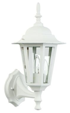 Craftmade Z150 Hex 1 Light Outdoor Wall Sconce - 8 Inches Wide