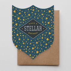 Stellar Birthday Badge