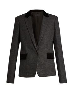 Prisca Prince of Wales-checked wool blazer | Joseph | MATCHESFASHION.COM UK