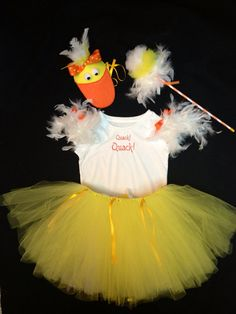 Little Duck Costume Set