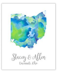 Seriously adorbs wedding map guest book ideas. Click for even more ideas.