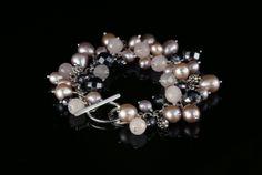 Pearl Charm Bracelet - Biba Design Jewelry