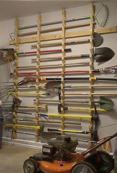 Idea Organizador barras, tubos, molduras... Garden Tool Storage
