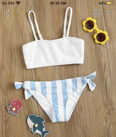 Cute Swimsuits, Cute Bikinis, Women Swimsuits, Summer Bathing Suits, Cute Bathing Suits, Bikinis For Teens, Cute Lingerie, Summer Wear, Trendy Outfits