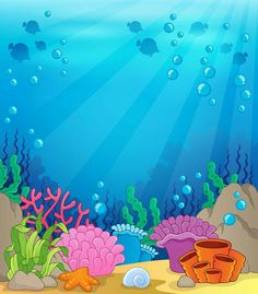 "Photo from album ""Раскраски"" on Yandex. Under The Sea Background, Art For Kids, Crafts For Kids, Cartoon Sea Animals, Shark Party, Under The Sea Party, Sea Theme, Ocean Themes, Marianne Design"