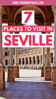 7 Sights You Really Shouldn't Skip in Seville, Seville is the capital and largest city of Andalucia and is the perfect place to start or end your Southern Spain road trip. It is home to stunning Moorish palaces, the final resting place of Christop Europe Destinations, Europe Travel Tips, Italy Travel, Travel Guides, Travel List, European Travel, 7 Places, Cool Places To Visit, Spain Road Trip