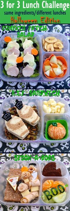 Deb from http://ipacklunch.com/ is at it again. Stretch your food budget: 3 different ways to serve 3 main ingredients in your lunchboxes:  http://www.stockpilingmoms.com/2012/10/3-for-3-lunch-challenge-lunchbox-ideas-1014/
