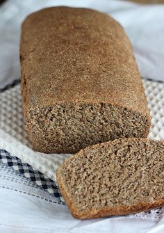 Bread Recipes, Cooking Recipes, Healthy Recipes, Polish Recipes, Bread Rolls, Banana Bread, Food And Drink, Gluten Free, Bakken