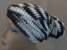 Crochet Head Wrap - Crochet Head Scarf - Crochet Dread Cap #handmade #etsyretwt