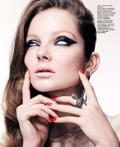 ☆ Eniko Mihalik | Photography by Christian Anwander | For M Magazine France | February 2012 ☆