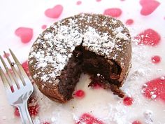 chocolate lava cake for two (or one) - Budget Bytes