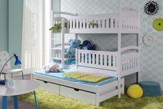 Łóżko piętrowe Ania 3-osobowe - 80 x 190 | meble-bogart.pl
