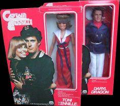 Mego's 1977 Captain & Tennille Dolls