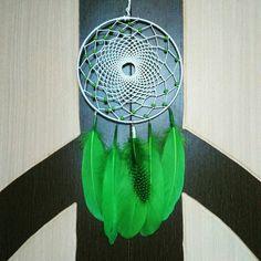 Aura's Green Glory Dreamcatcher Wallhanging