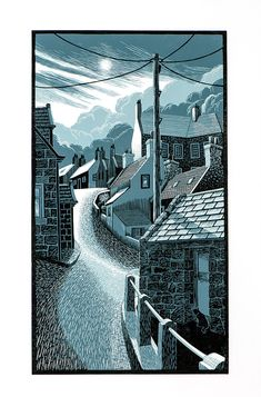 Scottish Artist, website shows paintings, prints and drawings Lino Art, Photographs And Memories, Linoprint, Impressionist Paintings, Linocut Prints, Art Techniques, Art Inspo, Printmaking, Art Drawings