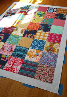 THE Bold Colors, Color Blocking, Interior Decorating, Doodles, Quilts, Blanket, Inspiration, Scrappy Quilts, Ideas