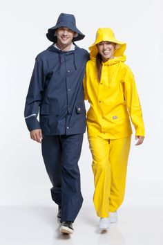 Rukka adult rainwear sets navy blue and yellow