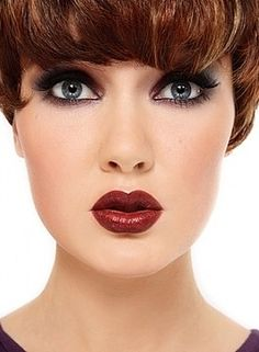 pictures of women wearing lots of lipstick - Google Search