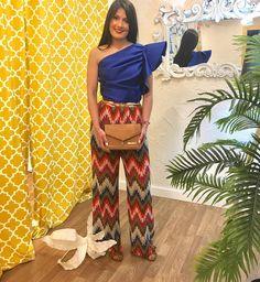 Este es tu conjuntito ideal si crees que un pantalón es tan elegante como una falda o vestido para cualquier evento.  Bellísima nuestra maria  967607673MD @wom&now
