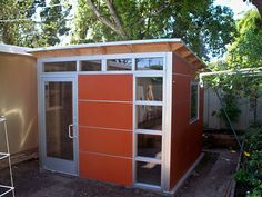 Cool idea for Writing Camp headquarters.... by Studio Shed @Brenda Wegner @Jen Geigley