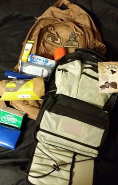 Bugout Bag & T-Bag by neverforget14