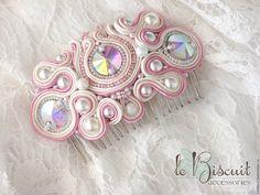 Купить Гребень для невесты - украшение для волос, для невесты, украшение для невесты, Свадебные мелочи, красивый аксессуар