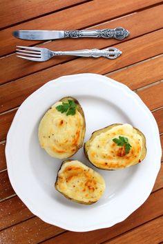 Na cztery widelce: Faszerowane parmezanowe ziemniaki z Kotányi