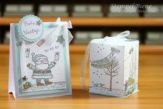 ADORABLE projects by Pat B., found on www.stempel-biene.com