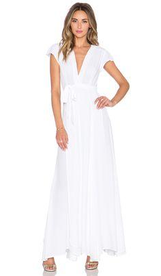Tularosa x REVOLVE Sid Wrap Dress in White | REVOLVE