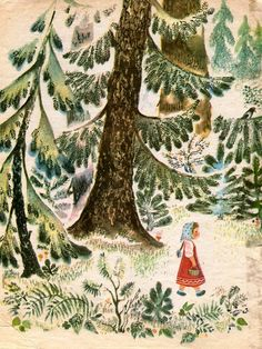 forest in children books