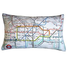 Throw Pillows On Pinterest London Underground Trina