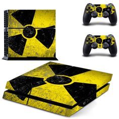 Resident Evil PS4 Skin Sticker Biohazard Decal For Sony PS4 PlayStation 4 Console and 2 Controllers Stickers #Affiliate