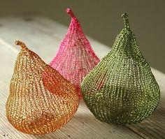 Tejido a crochet con alambre 9