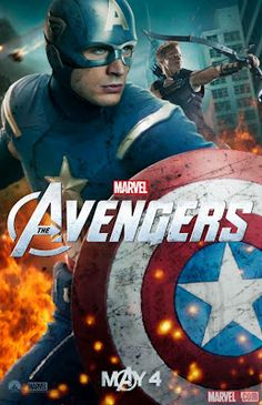 "New Movie Posters of ""Marvel's The Avengers""  Looking forward to seeing this one."