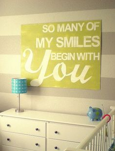 21 Inspiring Nursery Wall Decor Ideas - The Bump Blog