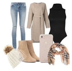 """""""❤"""" by purplepancakeaarecool on Polyvore featuring Protagonist, Yves Saint Laurent and Burberry"""