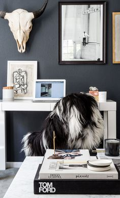 Apartment 34 | How To Incorporate a Home Office into Your Living Room