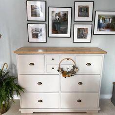 Antes y después: transformaciones increíbles con chalk paint y otras técnicas Chalk Paint, Dresser, Furniture, Home Decor, Angeles, Diy, Instagram, Rural House, Closet Doors Painted