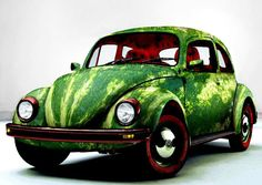 watermelon, feedstock, biofuel, biofuel feedstock, watermelon juice, sustainable design, green design, energy, Watermelon Car by Rungue