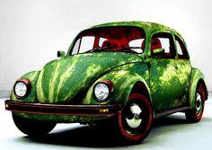 watermelon, feedstock, biofuel, biofuel feedstock, watermelon juice, sustainable design, green design, energy, Watermelon Car by Rungue