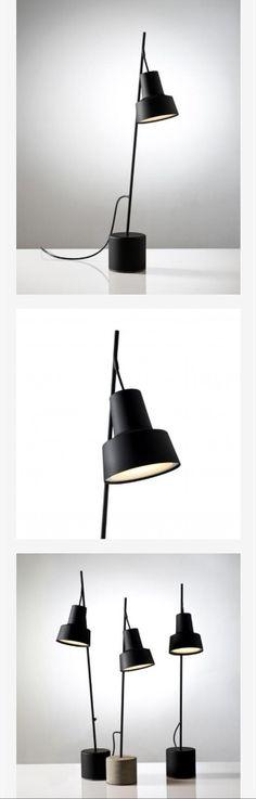 Desk light black